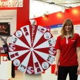 CeBIT Transcend Messe-Promotion