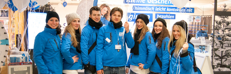 Promotionpersonal in Freiburg